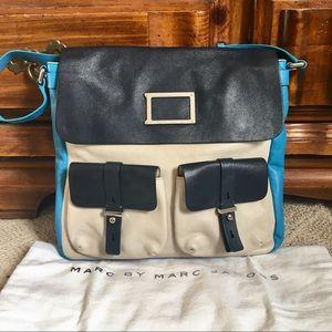 New Marc Jacobs color block shoulder bag